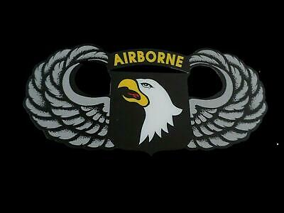 U.s Military Army 101St Airborne Window Decal Sticker Screaming Eagles