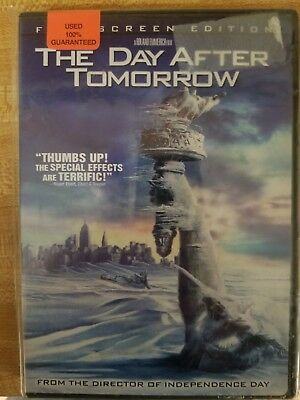 The Day After Tomorrow (Full Screen Edit DVD) ** USED GUARSNTEES **