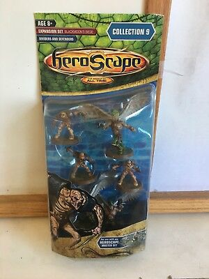 Heroscape - Wave 9, Blackmoon's Siege Dividers and Defenders unopened