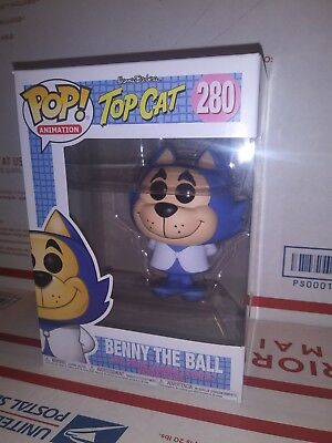 Funko Pop Benny The Ball #280 Vinyl Figure Animation TOP CAT  NIB
