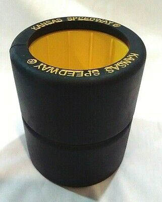 Kansas Speedway NASCAR Themed Can Holder / Drink Holder, Made in the USA