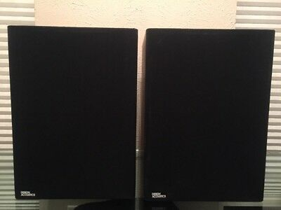 VINTAGE DESIGN ACOUSTICS PS-8x POINT SOURCE SERIES SPEAKERS  Made In USA