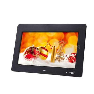 10''HD LCD Digital Photo Picture Frame Album Clock Alarm Music Video Player Gift