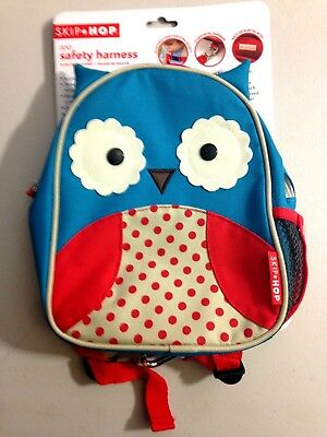 Zoo Little Kid And Harnesses & Leashes Toddler Safety Backpack, Otis Owl