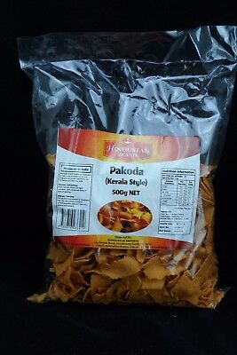 Pakoda Chips - Kerala Style Pakora Chip 500g - Delicious Savoury Indian Snack