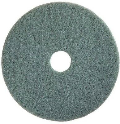 TOUGH GUY 4RY56 Burnishing Pad, 20 In, Aqua, PK 5
