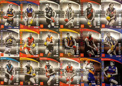 2018 Afl Select Footy Stars Trading Cards Packs Picked Randomly 10 Cards / Pack