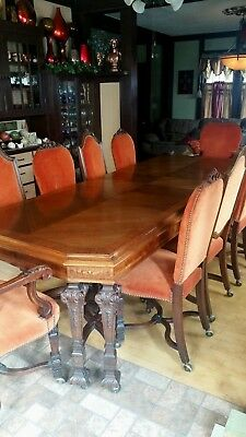 West End Furniture Company Antique Dining Room Set, ONE OF A KIND, gorgeous!