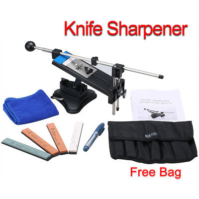 Kitchen Sharpening Knife Sharpener System Fix-angle 4 Stones II Nue