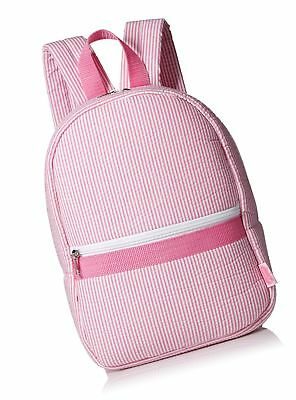 Mud Pie Seersucker Backpack for Child Pink