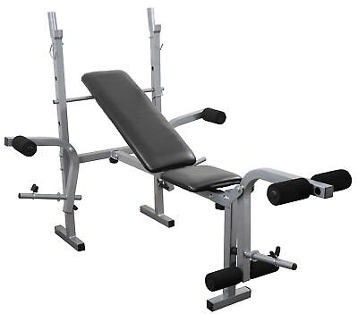 Weight Training Bench Leg & Chest Flys Workout Folding & Adjustable