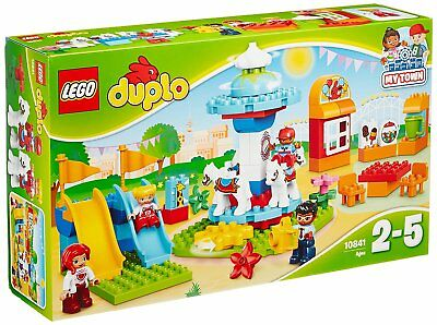 LEGO DUPLO 10841 Fun Family Fair La Fête Foraine Familiekermis Building Set NEW