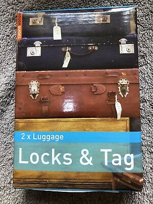 """Rough Guides"" Quality Combination Locks & Luggage Tag Set"