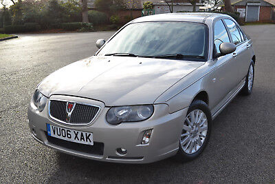 2006 Rover 75 Diesel Contemporary Cdti Automatic Gold One Of A Kind 18,980 Miles