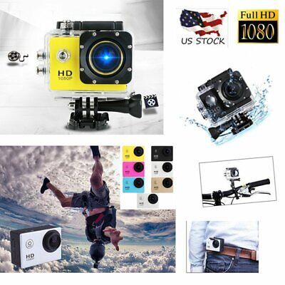 Waterproof SJ4000 HD 1080P Ultra Sports Action Camera DVR Cam Camcorder US