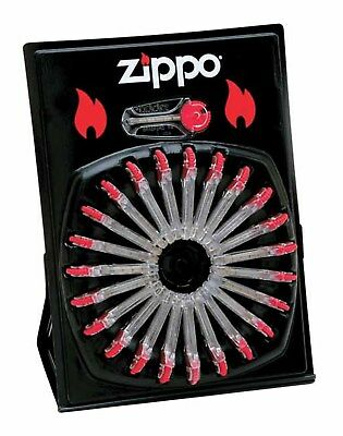 Zippo Flint Dispenser, 24 Packs (6 Flints per Pack) - 2406C
