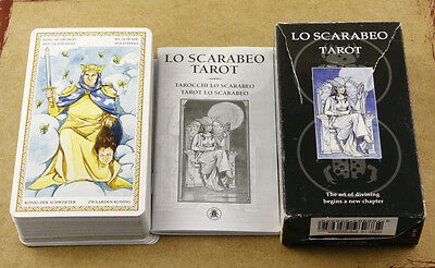 Lo Scarabeo Tarot Deck Cards Made in Italy Slightly Used Mint Condition