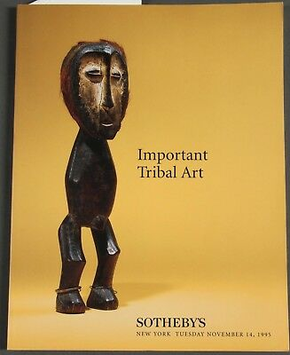 Sotheby's Important Tribal Art, African, November 14, 1995 with prices