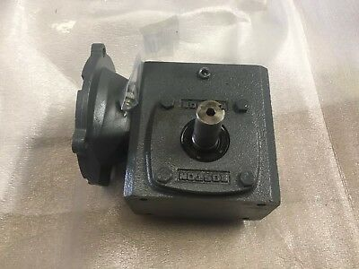 BOSTON GEAR 700 SERIES WORM GEAR RIGHT ANGLE REDUCER .37 hp.  50-1 ratio