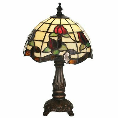 Meyda Tiffany 19189 Stained Glass / Tiffany 1-Light Accent Table Lamp