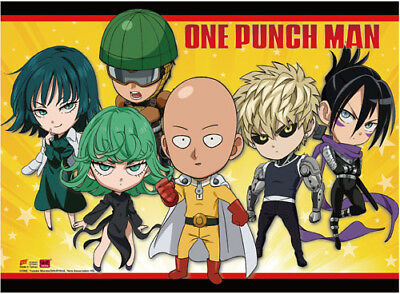 NEW GE One Punch Man SD Group Puffy Sticker Set Official GE55498 US Seller