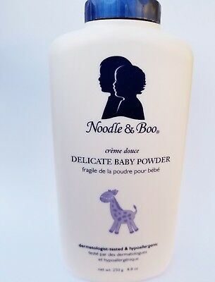 Noodle & Boo Delicate Baby Powder 250g. 8.8 oz. NEW and SEALED