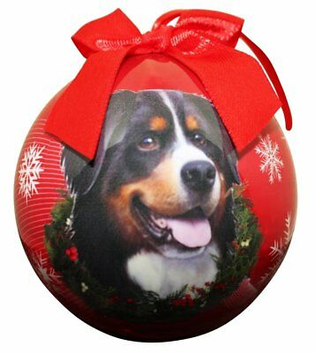 Bernese Christmas Ball Ornament Dog Holiday Xmas Pet Lovers Gift