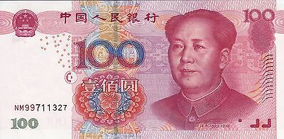 CHINA ¥100 (2005) 2nd Issue of Fifth Series Unc / Mao