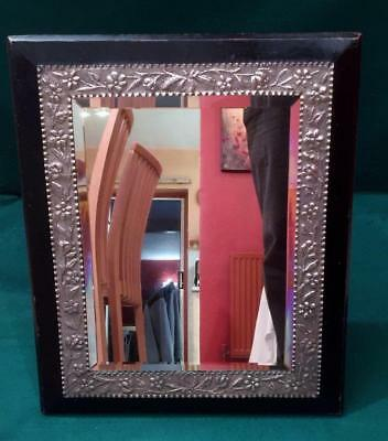 Very large quality mirror by James Vickery London 1891