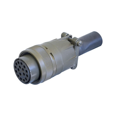 17 Pin Inline Socket Ms97 Military Style