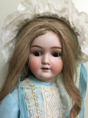 """Antique Doll Kley & Hahn Bisque On A Comp Body 22"""""""