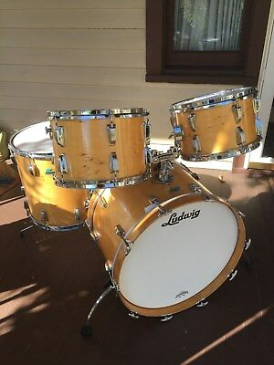 """LUDWIG 1970""""s THERMOGLOSS DRUMS  6 ply"""