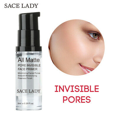 SACE LADY Make Up Base Primer Face Professional Cosmetic for Facial Oil Skin Nut