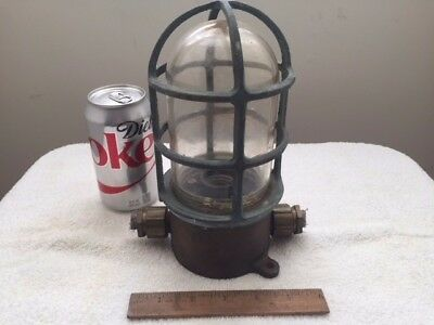 Vintage Nautical Brass Ship Light