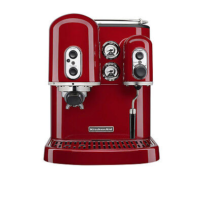NEW KitchenAid Pro Line Espresso Machine Candy Apple Red (RRP $1999)