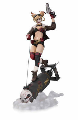 DC Collectibles Bombshells Harley Quinn Deluxe Statue NEW IN BOX