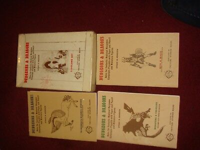 d&d oce dungeons and dragons 3 booklets