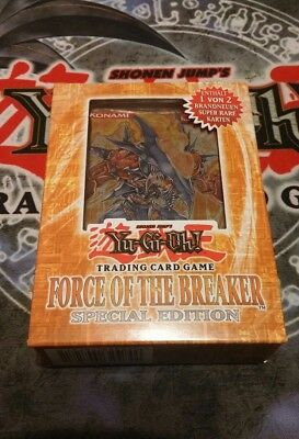 Yu-Gi-Oh Force Of The Breaker, Special Edition, OVP, Deutsch, Booster, IOC, FOTB
