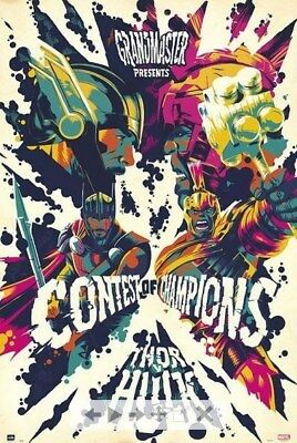 THOR RAGNAROK ~ CONTEST OF CHAMPIONS 24x36 MOVIE POSTER Hulk NEW/ROLLED!