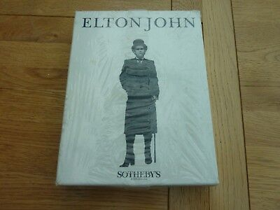 Elton John Sotherby's Sale Boxed Set Catalogues Sealed Original