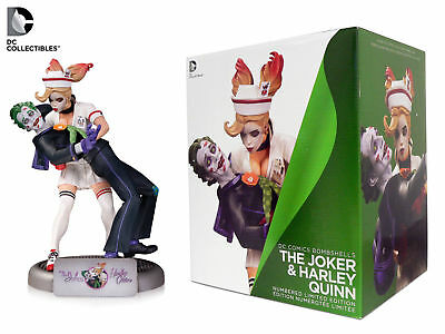 DC Collectibles DC Comics Bombshells: The Joker and Harley Quinn Statue NEW