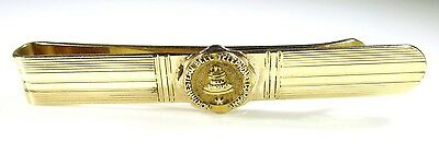 Gold Plated and 10K Northwestern Bell Telephone Company Tie Clip