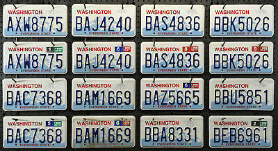 WASHINGTON LICENSE PLATE - The Evergreen State - Pick Your Plate