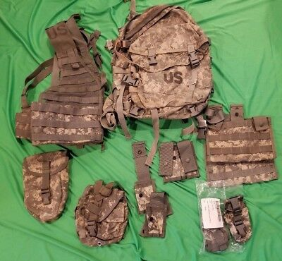 US Military 3 Day Assault Pack Combo Package ACU