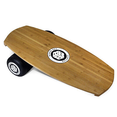 Byron Bay Balance Board Trainer + Roller Package Wakeboard Bamboo