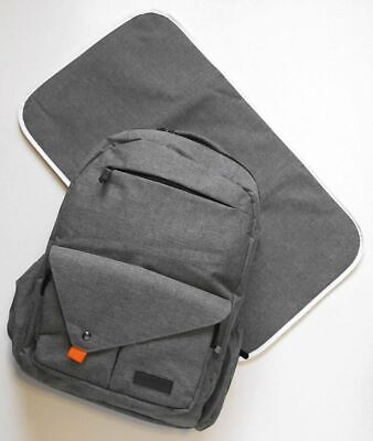 Backpack Diaper Bag with Changing Pad & FREE All Natural Vegan Diaper Rash Balm