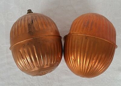 VINTAGE COPPER TOILET FLOAT BALLS BULBS FEDERAL TYPE R and TYPE A