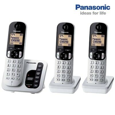 Panasonic Cordless Phone KX-TGC223ALS  Triple Handset with Answering System