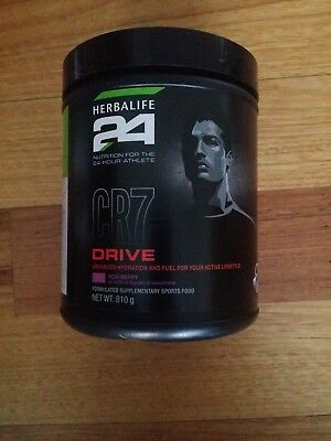Herbalife 24 CR7 DRIVE ACAI BERRY SPORTS FOOD x 1 Canister Only 810g BB: 6/18