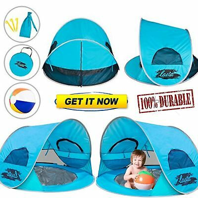 Baby Pop-Up Indoor Outdoor Beach Tent With Pool Beach Ball UV Protection Canopy